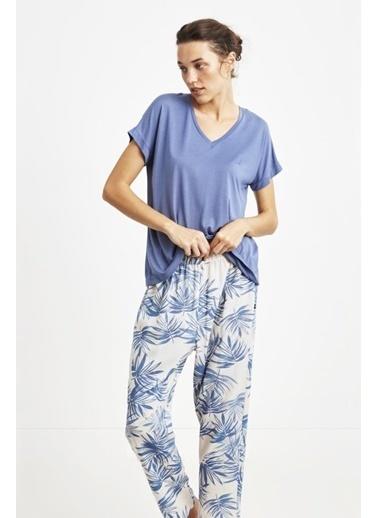 Nautica W118 Pijama Takım İndigo